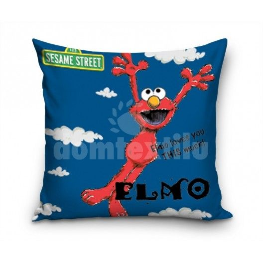 Obliečka na vankúš s motívom Postavičky Elmo JDA5