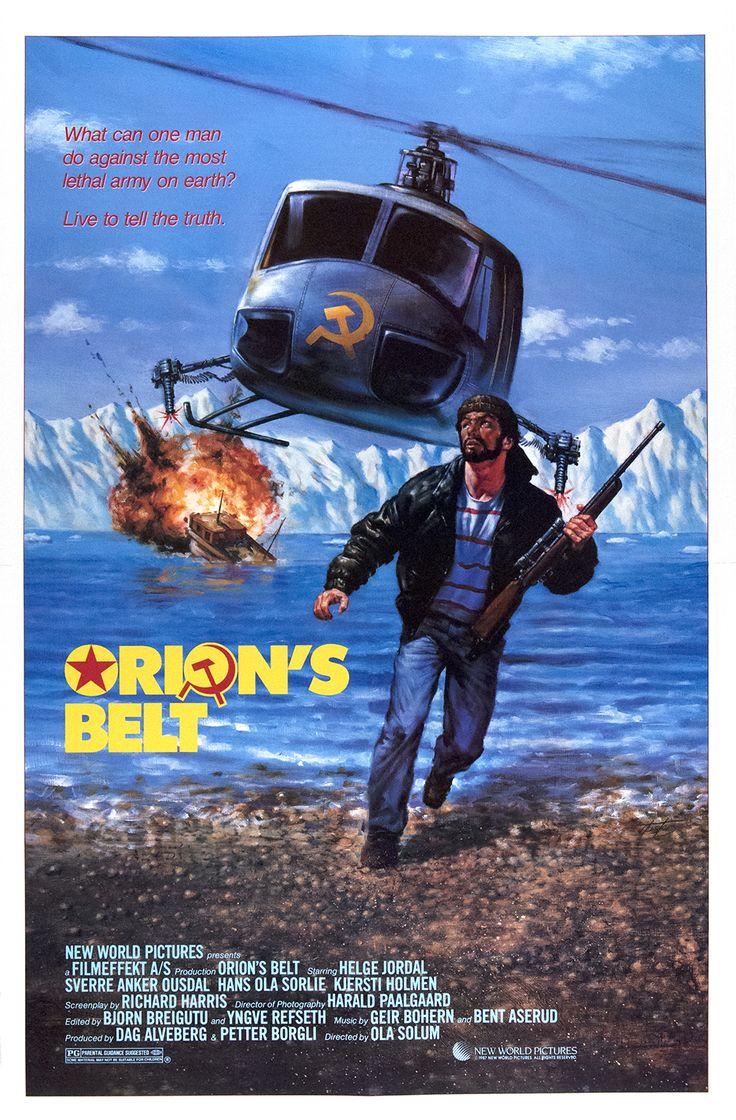 A Year of Spy Films 240/365 Orions belte (1985 Norway) aka Orion's Belt The International Spy Film Guide Score: 8/10 #isfg #spyfilmguide #eurospy #fjords #norway #fishermen #soviet #spymovie #spyfilm https://www.kisskisskillkillarchive.com