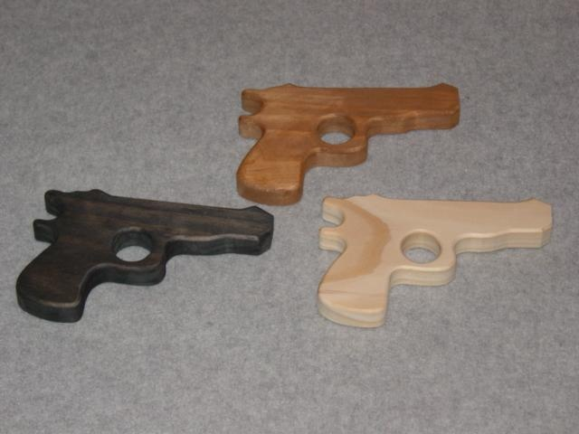 Handmade Wooden Toy Pistol - My Unique Wooden Toys