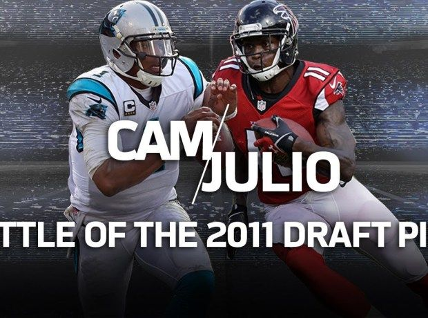 Cam Newton vs. Julio Jones: Battle of the NFC South Rivals | NFL Highlights – NFL News Videos