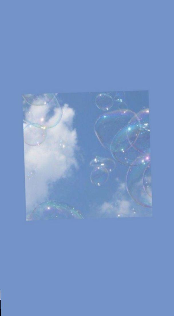 Wallpaper Blue Aesthetic Jimin Nature Photo Sky In 2020 Blue Wallpaper Iphone Blue Aesthetic Pastel Light Blue Aesthetic