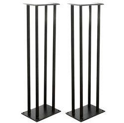 Dual Heavy-Duty Steel Support Bookshelf / Monitor Speaker Stand Mounts