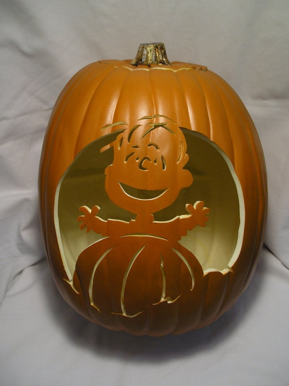 85 best images about it 39 s the great pumpkin carvings for Charlie brown pumpkin template