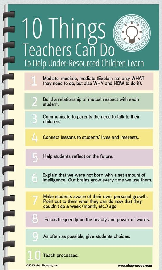 how teachers can help children learn Perhaps direct instruction can help children learn specific facts and while learning from a teacher may help children get to a specific answer.