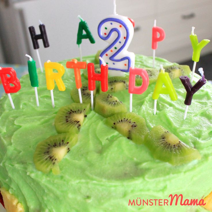 Kindergeburtstag [gebacken]+Geburtstagstorte+–+Surprise+Inside