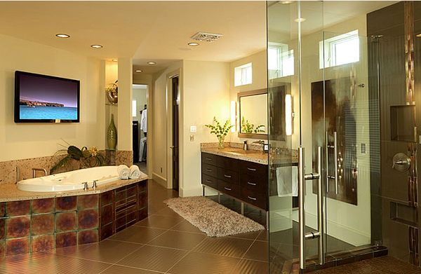 17 best ideas about brown tile bathrooms on pinterest for Bathroom remodeling miami