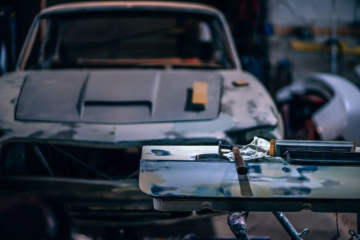 From a dented bumper to fixing a broken headlight
