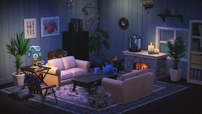 Comfy Living Room Comfy Living Room Animal Crossing Cute Living Room