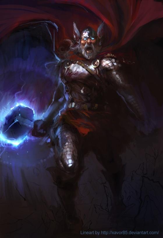 Thor   Personagem do Livro Mitologia Nórdica