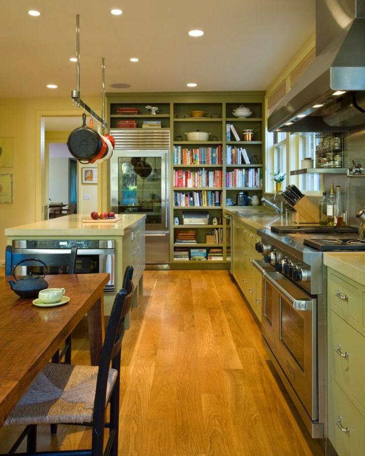 17 Best Ideas About Galley Kitchen Island On Pinterest