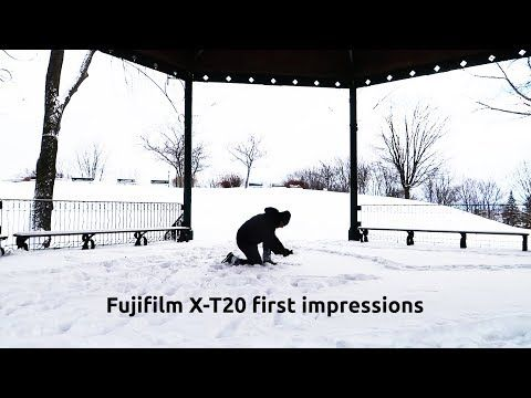 (1) FUJIFILM XT20 FIRST IMPRESSIONS AND MY GROWING LOVE FOR THE 18-55 f/2.8- 4.0 KIT LENS - YouTube