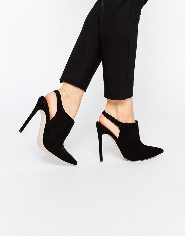 Image 1 of ASOS PLAY IT COOL Pointed High Heels