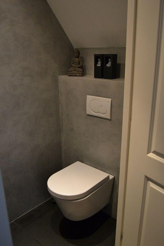 10 beste afbeeldingen over wc idee op pinterest toiletruimte toiletten en planken for Idee betegelde toiletruimte