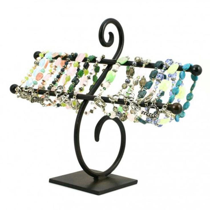 Best Jewelry Display Ideas Images On Pinterest Display Ideas - Bangle bracelet storage ideas