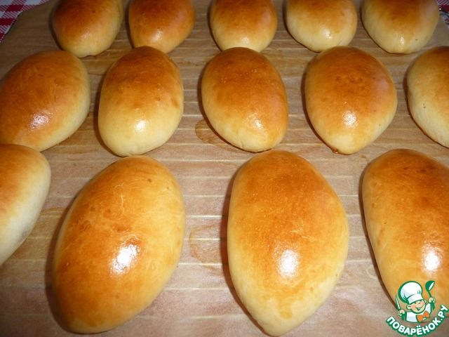 Пирожки пуховые ингредиенты