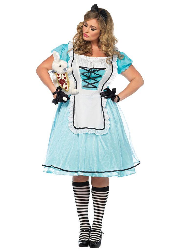 alice time plus size women costume - Halloween Costume Plus Size Ideas