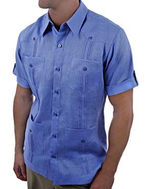 short-sleeve-linen-guayabera-shirt