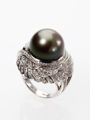garrard tahitian pearl ring
