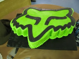 The Dessert Box: Fox Racing cake