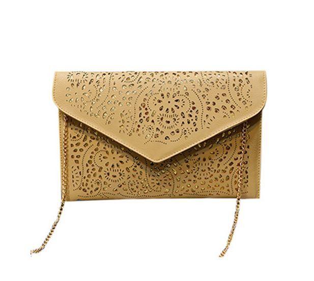Luxusní koženkové psaníčko s řetízkem – kabelka s dirkovaným vzorem – béžová – SLEVA 60 % + POŠTOVNÉ ZDARMA Na tento produkt se vztahuje nejen zajímavá sleva, ale také poštovné zdarma! Využij této výhodné nabídky …