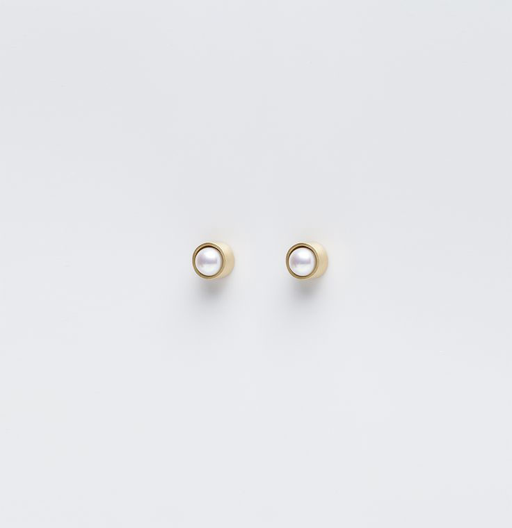 Box Collection 2007, 18kt Yellow Gold & Pearls