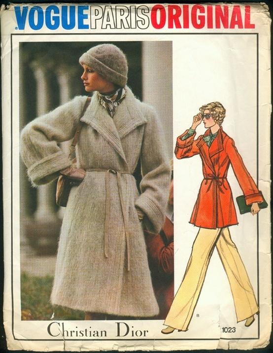 dior coat pattern