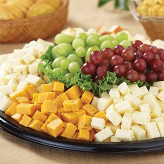 $40 - serves 20-25 - H-E-B Cubed Cheese Party Tray