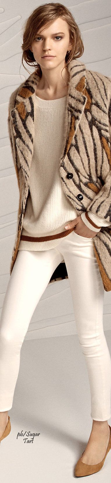 Patrizia Pepe Fall 2015 women fashion outfit clothing style apparel @roressclothes closet ideas
