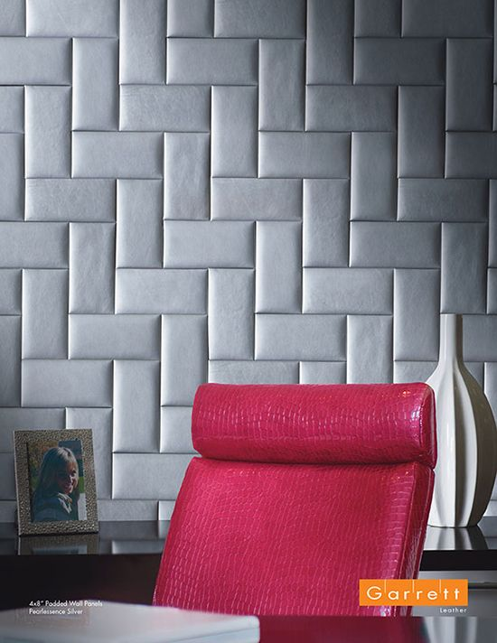 4x8 Padded Wall Panels | Pearlessence Silver