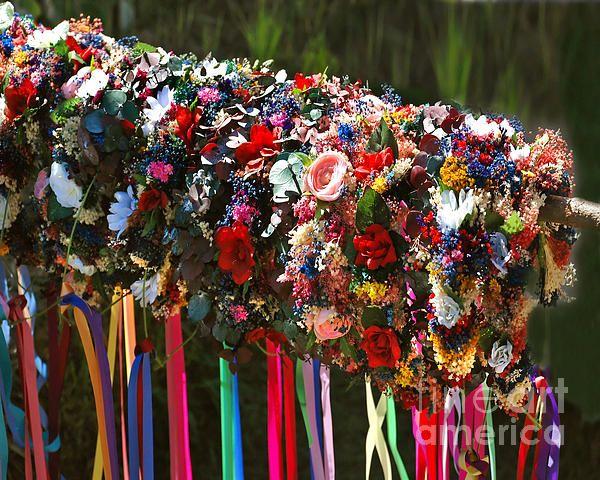 Renaissance Festival Hair Wreaths