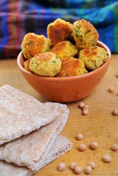 falafel (vegán) recept vegetáriánus a húsmentes gasztronómia világából