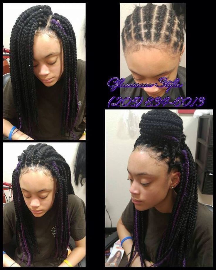 Crotchet box braids