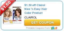 Though Clairol primarily makes women's hair dye, they do offer a men's line as well. Clairol Natural Instincts is semi-permanent and contains no ammonia, so you can get a light boost of color. The Age Defy line helps eliminate grays, and Nice'N Easy offers over 40 natural-looking, permanent shades.