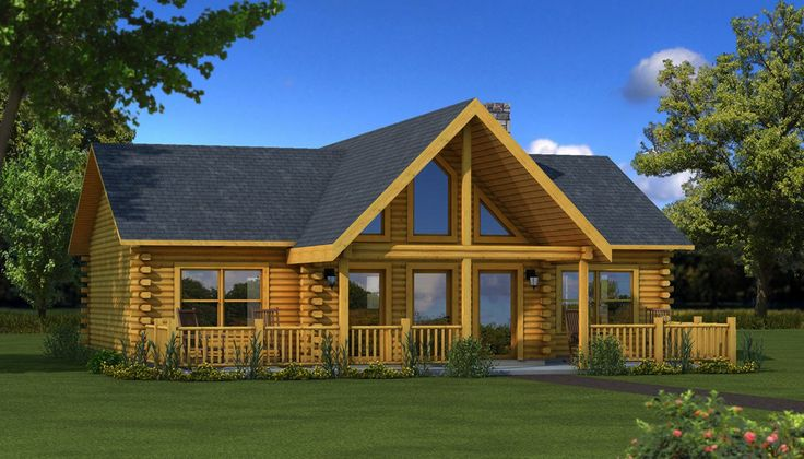 The wateree iv is one of the many log cabin home plans for Log home design e planimetrie