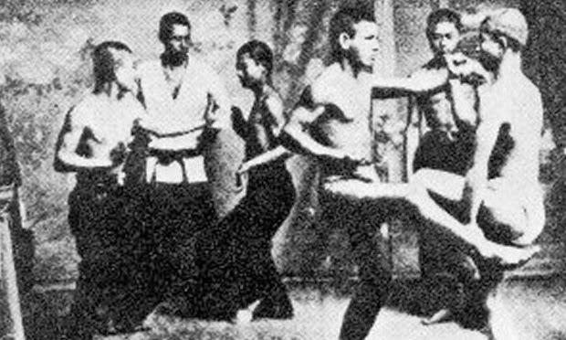 KARATE NERD | Seu blog de Karate: O KARATE RUDE E FEIO DA ANTIGA OKINAWA