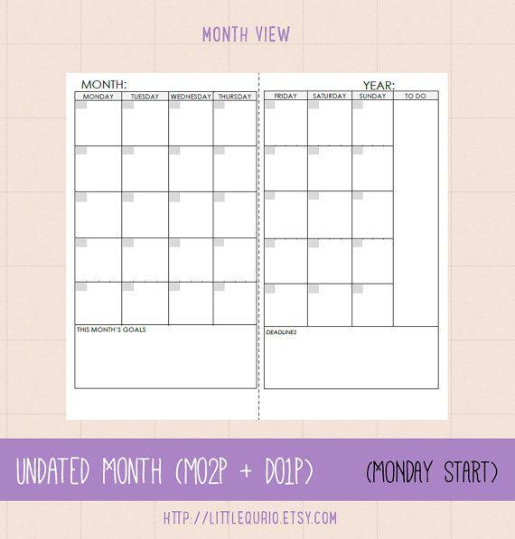 Midori Traveler S Notebook Calendar : Images about midori traveler s notebook inserts on