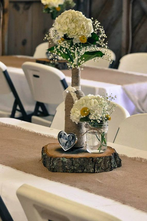 Wred Wine Bottle Decor By Terrie Vintage Centerpieces