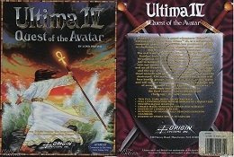Ultima III Quest of the Avatar Video Game Cover Boxart