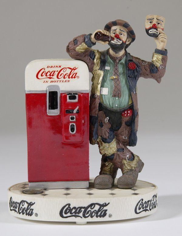 """Emmett Kelly Coca Cola Musical """"Put on a Happy Face"""""""
