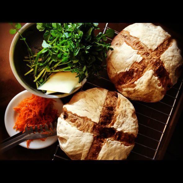 PAN LADRoN  ~あなたのパンのあるところ~ : クレソン & キャロット・ラペ