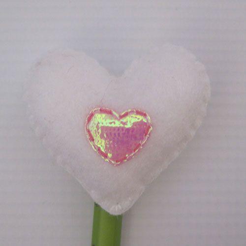 Heart Pencil Topper