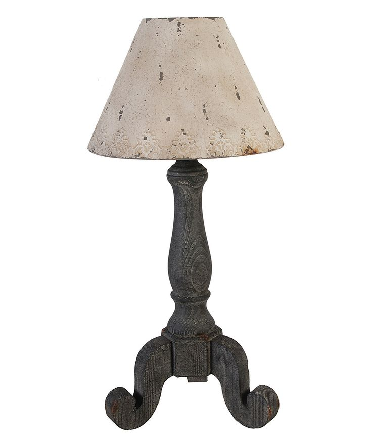 another great find on zulily country style table lamp by established. Black Bedroom Furniture Sets. Home Design Ideas