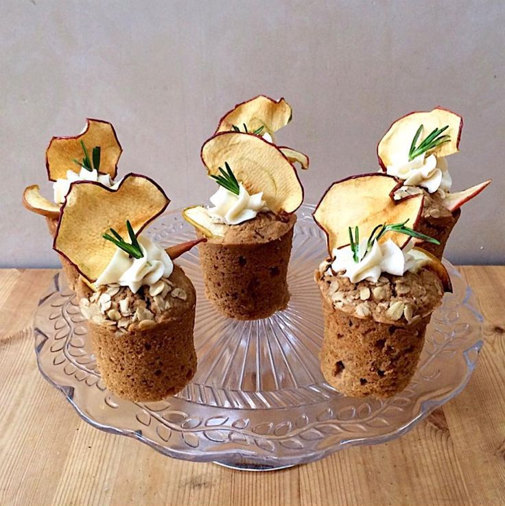 Apple & Rosemary Olive Oil Cake with a recipe ☮ Lily Vanilli