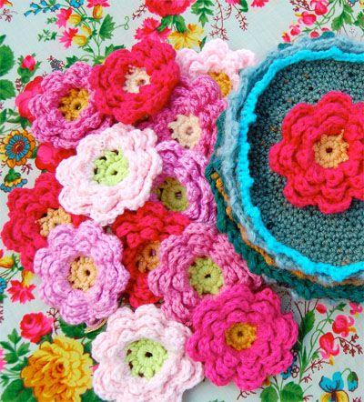 Crochet flower Tutorials