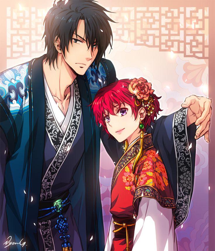183 Best Mythological Messes Redux Images On Pinterest: 183 Best Images About Akatsuki No Yona On Pinterest