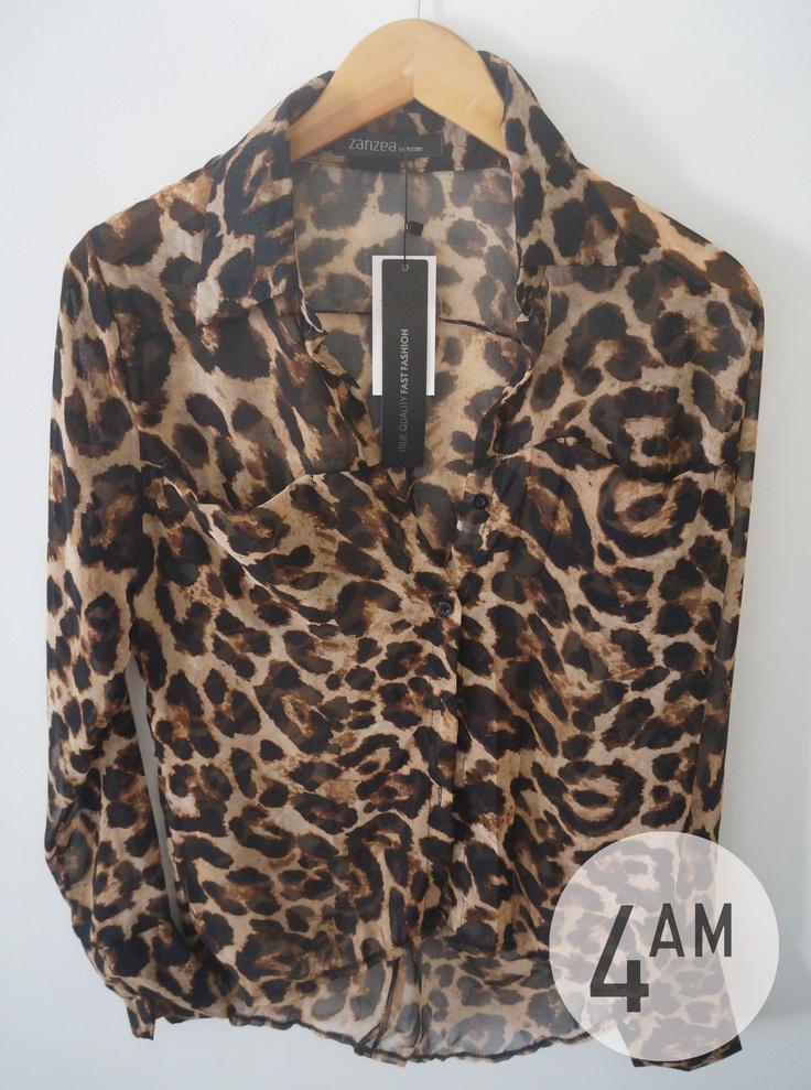 blusa leopardo 4AM