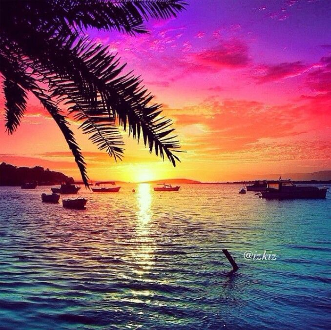 Sunset scenery on beach Free stock photos in jpg format for free ...