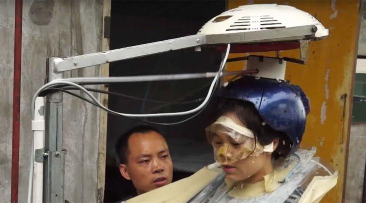 Chinese inventor spends 16 years designing hair-washing machine (VIDEO)  http://pronewsonline.com  © Ruptly