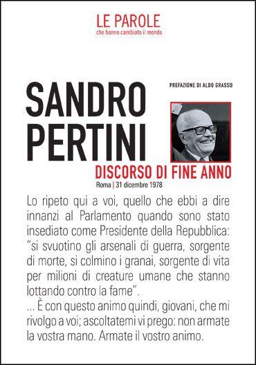 SANDRO PERTINI - DISCORSO DI FINE ANNO (1978)