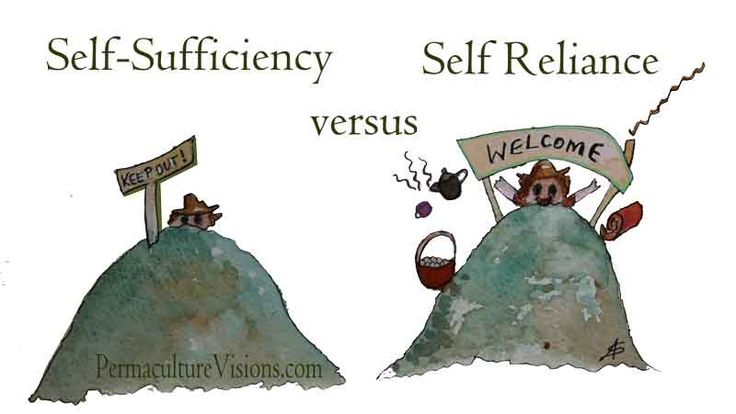 self-sufficiency-vs-self-reliance
